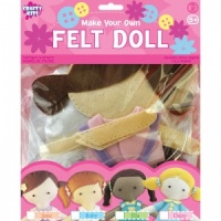 Make Your Own Felt Doll